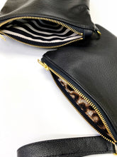 Load image into Gallery viewer, All Black Wristlet Sling Clutch