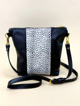 Load image into Gallery viewer, Dalmatian & Black Stripe Purse