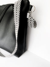 Load image into Gallery viewer, All Black Vegan Leather Tote