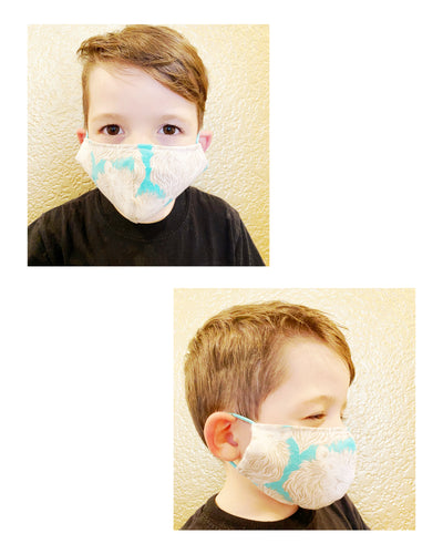 Small Children's Fitted Pocket Masks