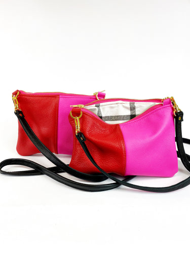 Colorblock MINI Pink & Red