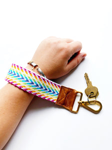 Dream in Color Wristlet Strap