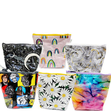 Load image into Gallery viewer, Watercolor Vinyl Standup Pouch