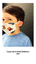 Load image into Gallery viewer, Children's Standard Pocket Masks
