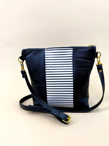 B&W Striped Stripe Purse