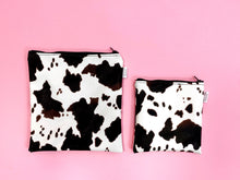 Load image into Gallery viewer, Cow Vinyl Pouches