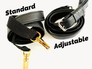 UPGRADE to adjustable strap