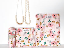 Load image into Gallery viewer, Blush Florals Wet Bags