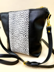 Dalmatian & Black Stripe Purse