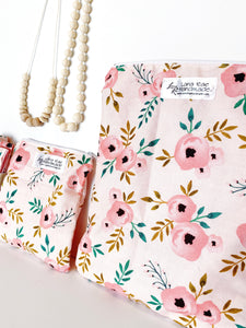 Blush Florals Wet Bags