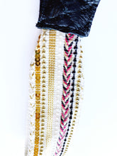 Load image into Gallery viewer, Ivory Beaded Wristlet