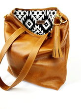 Load image into Gallery viewer, Leather All Brown Minimalist Tote