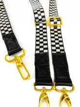 Load image into Gallery viewer, Checkered Wristlet Strap