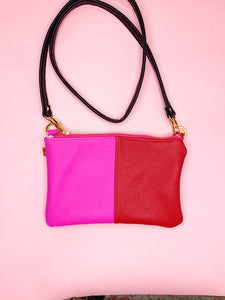 IMPERFECT Colorblock MINI Pink & Red