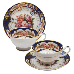 Effie Bone China Teacup and Saucer (1 set)
