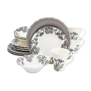 Heidelberg 16 Piece Dinnerware Set, Service for 4
