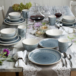 Load image into Gallery viewer, Kazuko Crackle-Glaze Dinnerware Set, Service for 4