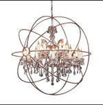 Load image into Gallery viewer, Luxurious Crystal Chandelier