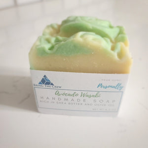 Vegan Soap Avocado Wasabi