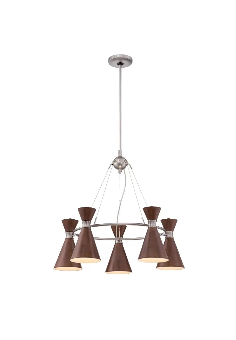 Conic 26 Inch Light Chandelier