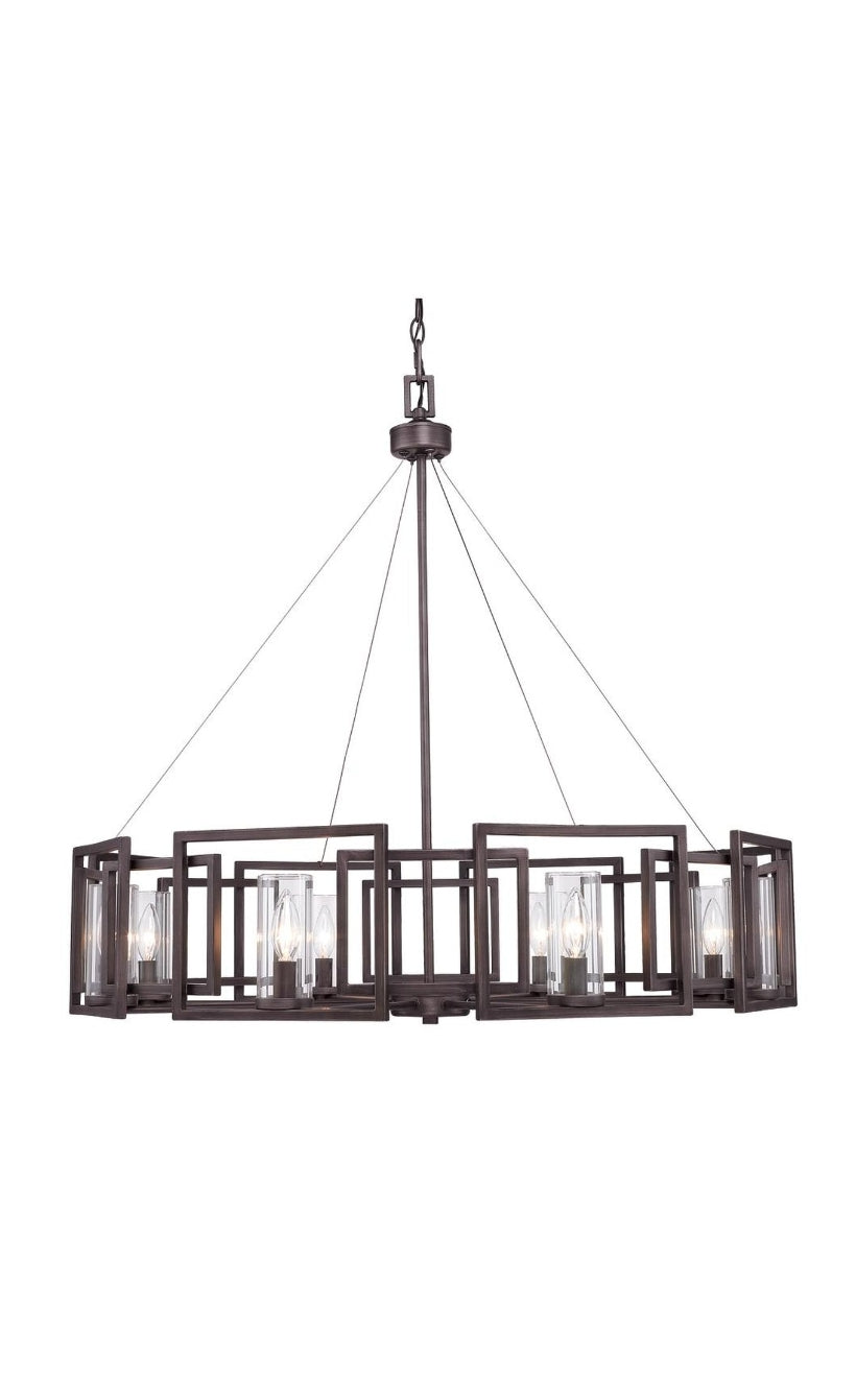 Marco 36 Inch 8 Light Chandelier