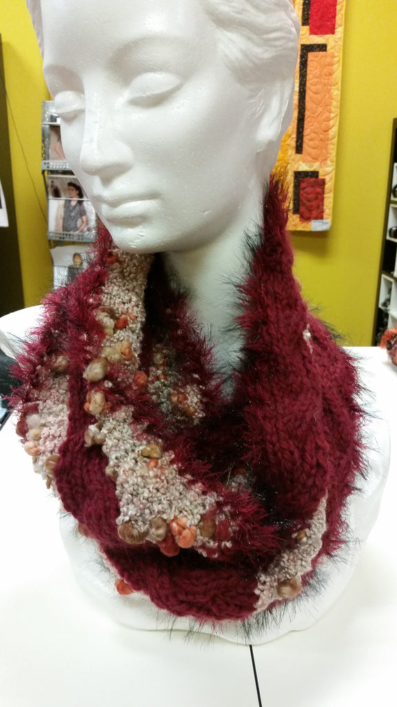 Reversible Braid Cowl and Snow Cowl