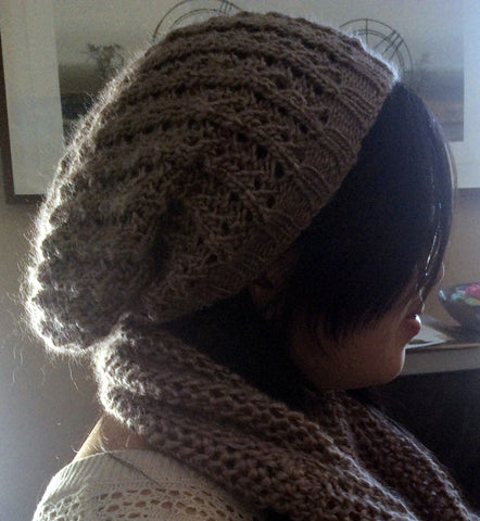Pacific Lace Slouchy Hat