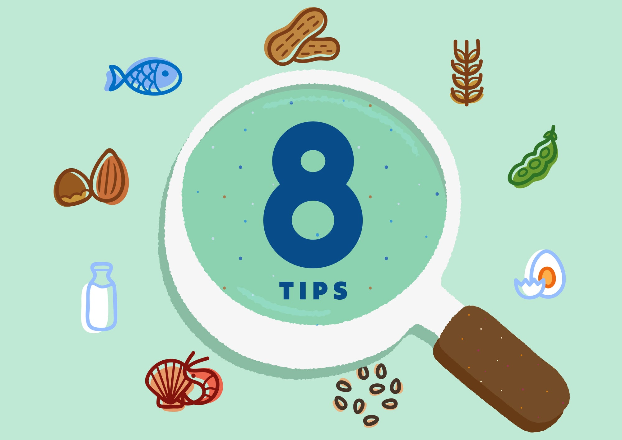 8 Tips for Managing Food Allergies