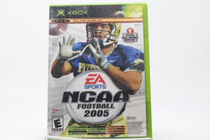 NCAA Football 2005 with box