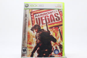 Tom Clancy's Rainbow Six: Vegas with box and manual