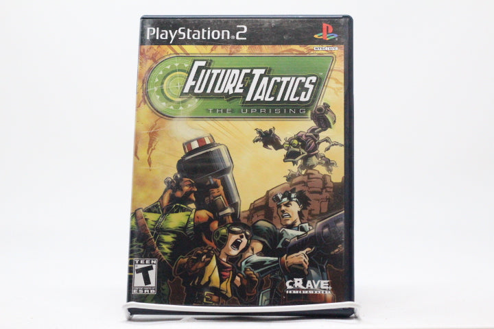 Future Tactics: The Uprising with box and manual