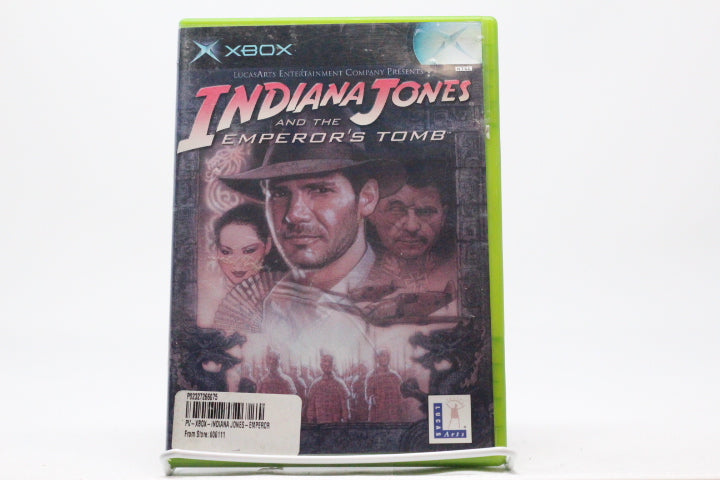 Indiana Jones and the Emperor's Tomb with box