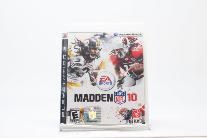 Madden NFL 10 with box and manual