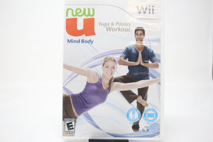 NewU Fitness First Mind Body, Yoga & Pilates Workout with box and manual