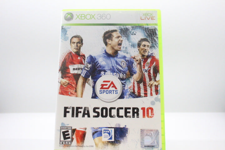 FIFA Soccer 10 with box and manual