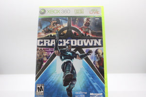 Crackdown with box and manual