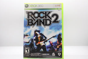 Rock Band 2 with box and manual