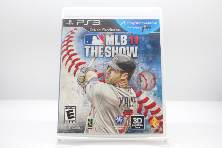 MLB 11: The Show with box and manual
