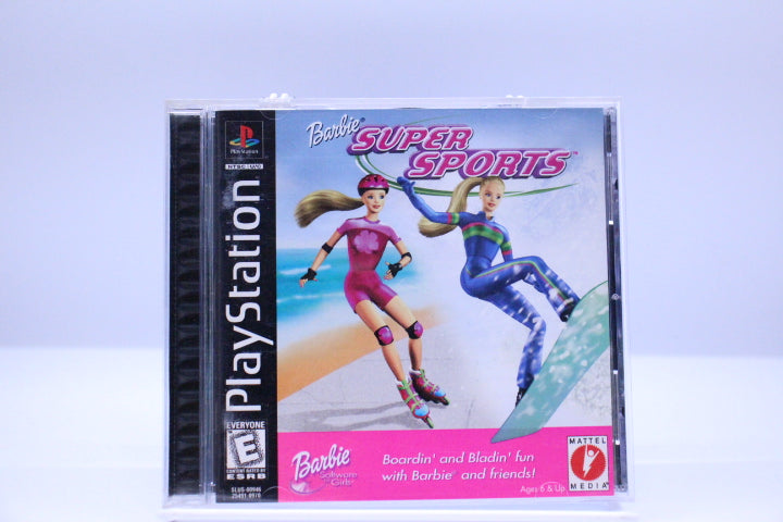 Barbie: Super Sports with box and manual