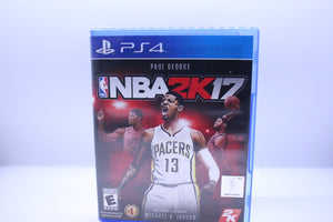 NBA 2k17 with box and manual