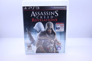 Assassin's Creed: Revelations with box and manual and extras