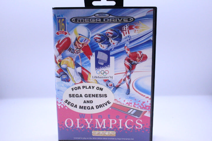 Winter Olympics: Lillehammer '94 with box and manual