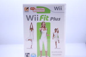 Wii Fit Plus with box and manual