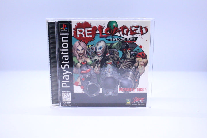 Re-Loaded: The Hardcore Sequel with box and manual