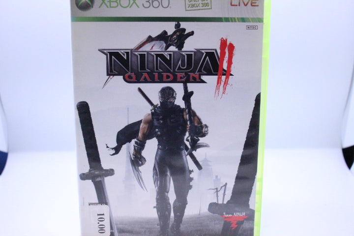 Ninja Gaiden II with box and manual