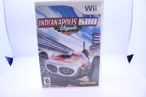 Indianapolis 500 Legends with box and manual