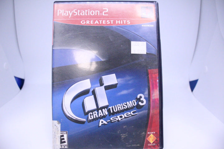 Gran Turismo 3 with box and manual