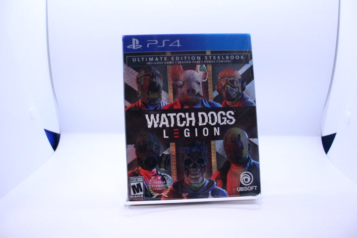 Watch Dogs: Legion with box and manual