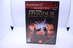 Star Wars Episode III: Revenge of the Sith with box and manual