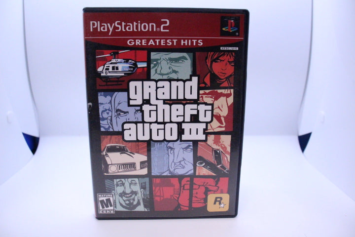 Grand Theft Auto III with box and manual
